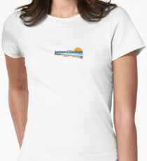 Chincoteague Island -Virgina. Womens Fitted T-Shirt