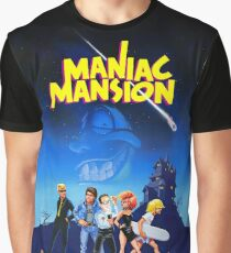 Day of the Tentacle - Maniac Mansion (High Contrast) Graphic T-Shirt