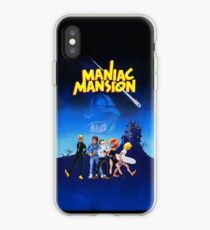 Day of the Tentacle - Maniac Mansion (High Contrast) iPhone Case