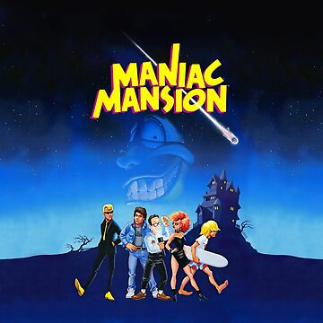 Day of the Tentacle - Maniac Mansion (High Contrast) by hangman3d