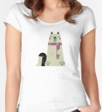Polar Bear Women's Fitted Scoop T-Shirt