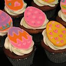Easter Egg Cupcakes by tali