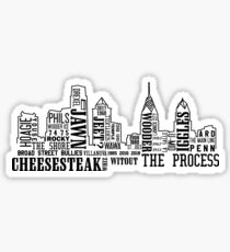 Philly Slang Sticker