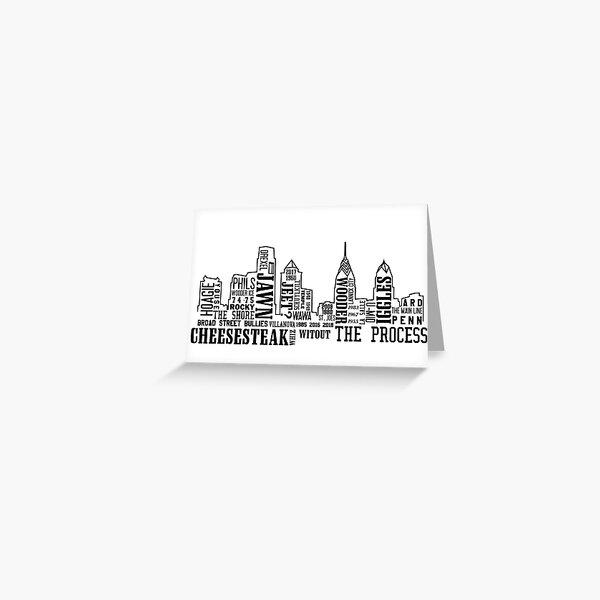 Philly Slang Greeting Card