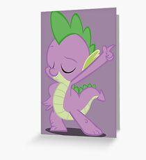 Disco Spike Greeting Card