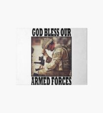 God bless our armed forces - UK Art Board