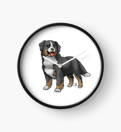 Bernese Mountain Dog Clock