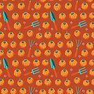 Pumpkins and garden tools by camcreativedk