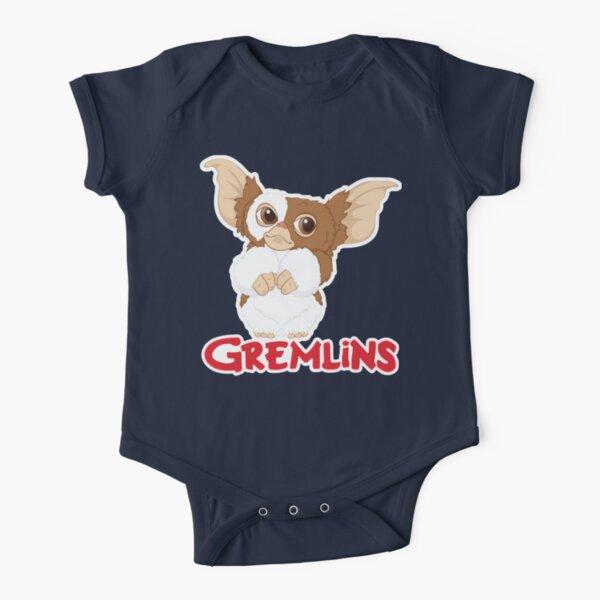 Gizmo - Gremlins  Short Sleeve Baby One-Piece