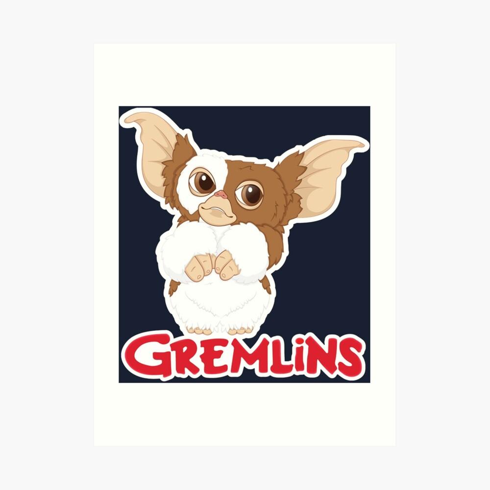 Gizmo - Gremlins Kunstdruck