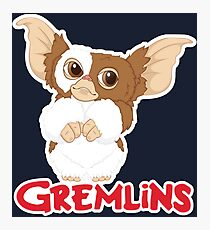 Gizmo - Gremlins  Photographic Print