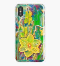Daffodils 11 iPhone Case/Skin