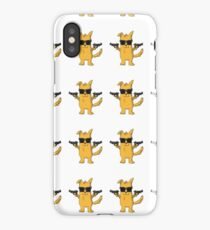 Funny Dog with Gun - Cute Dog Gift for Pet Lovers iPhone Case