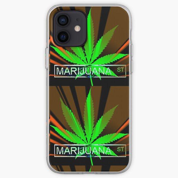 Marijuana Street iPhone Soft Case