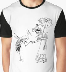 Stork Love Graphic T-Shirt