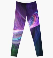 Infinity Universe Abstract Art Leggings