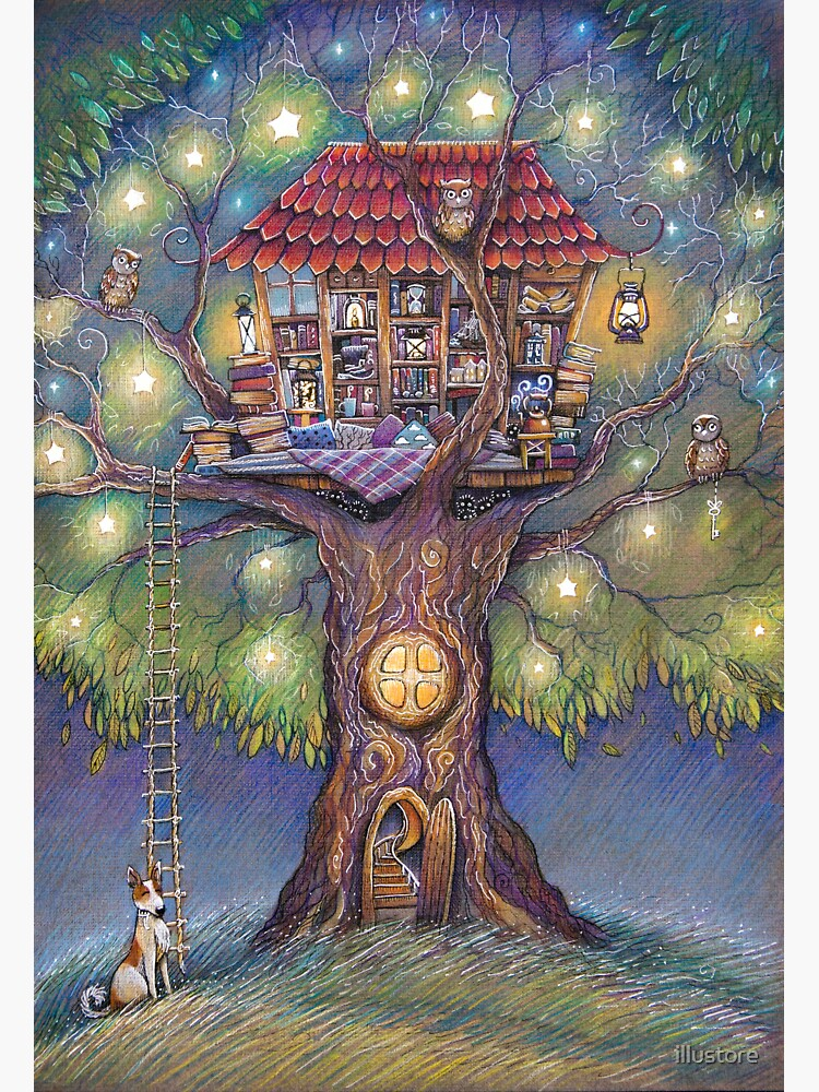 Tree House by illustore