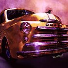 49 Dodge Pickup Truck Watercolour Illustration by ChasSinklier