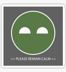 Halo ODST Superintendent - Calm *Sticker Sticker