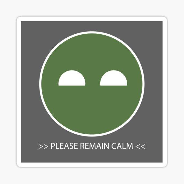 Autocollant Halo ODST Superintendent - Calm * Sticker