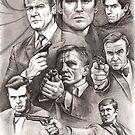 James Bond(s) by Alleycatsgarden