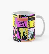Abstract Color Squares Classic Mug