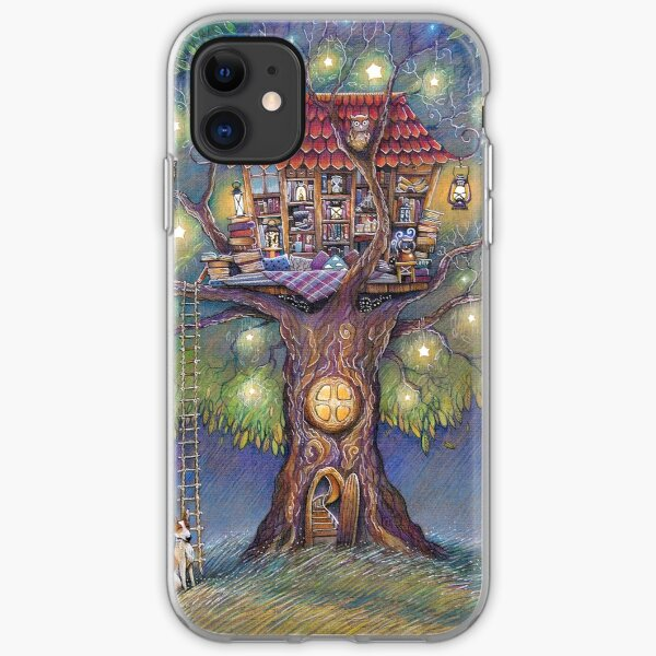 Tree House iPhone Soft Case