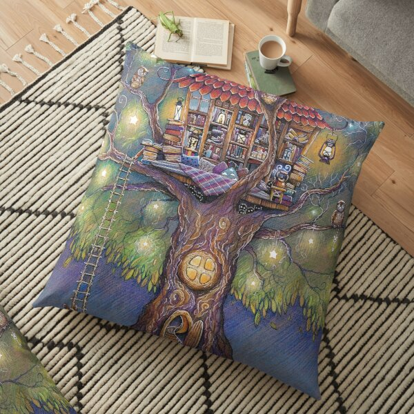 Tree House Floor Pillow
