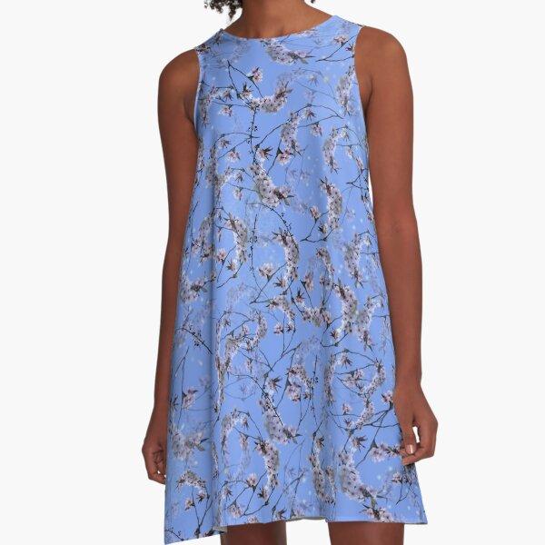 Spring Blossom A-Line Dress