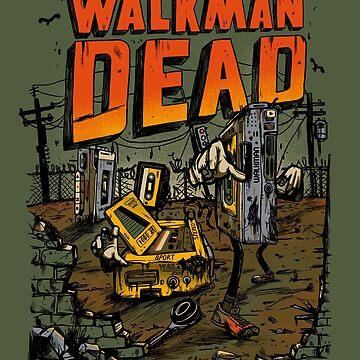 The walkman Dead by Madkobra