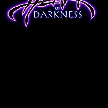 Pixel Heart of Darkness Retro Game Fan Shirt by hangman3d