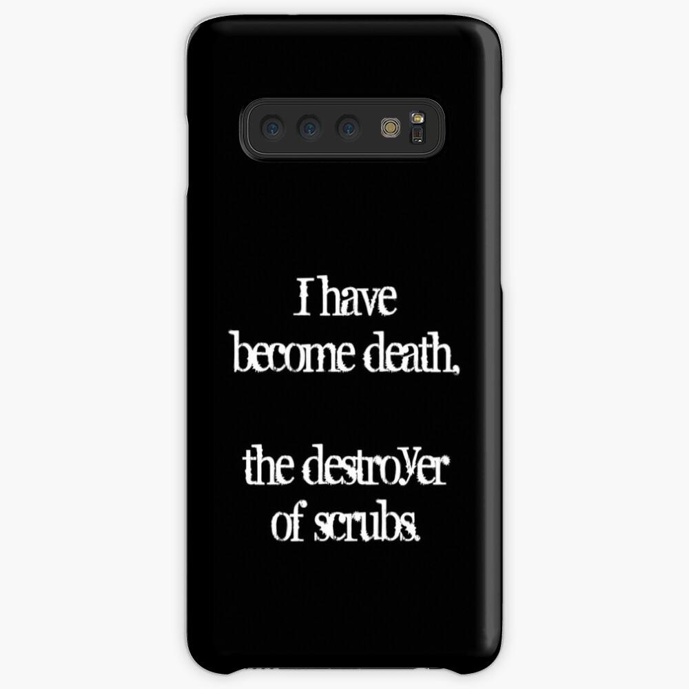 Me he convertido en la muerte, el destructor de matorrales. Funda y vinilo para Samsung Galaxy
