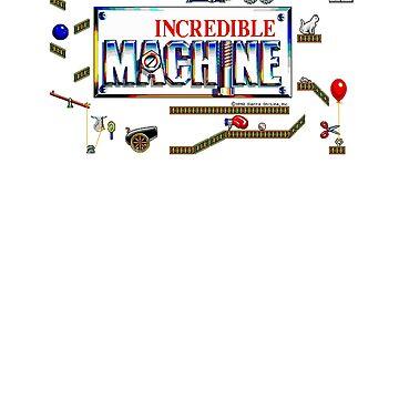 The Incredible Machine TIM Pixel Style - Retro DOS game fan shirt by hangman3d