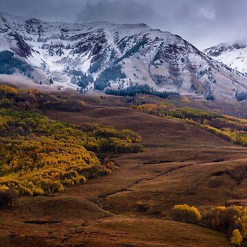 Fresh Snow In Fall by kkart