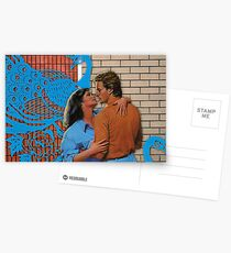 Love at the Bowling Alley Postcards