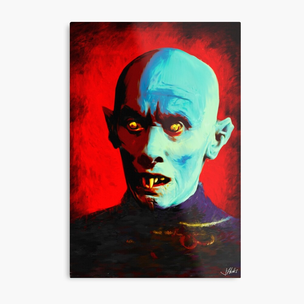 Horror Icons: Mr Barlow - Salem's Lot Lámina metálica