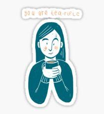 Tea and tea Sticker