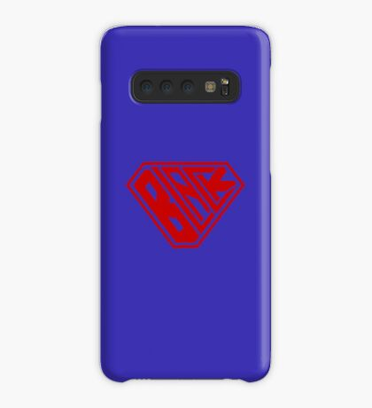 Black SuperEmpowered (Red) Case/Skin for Samsung Galaxy