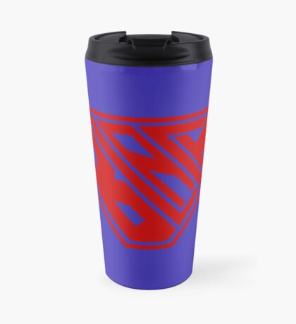 Black SuperEmpowered (Red) Travel Mug