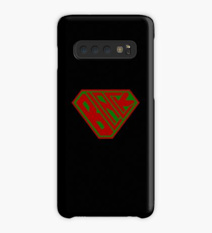 Black SuperEmpowered (Red and Green) Case/Skin for Samsung Galaxy