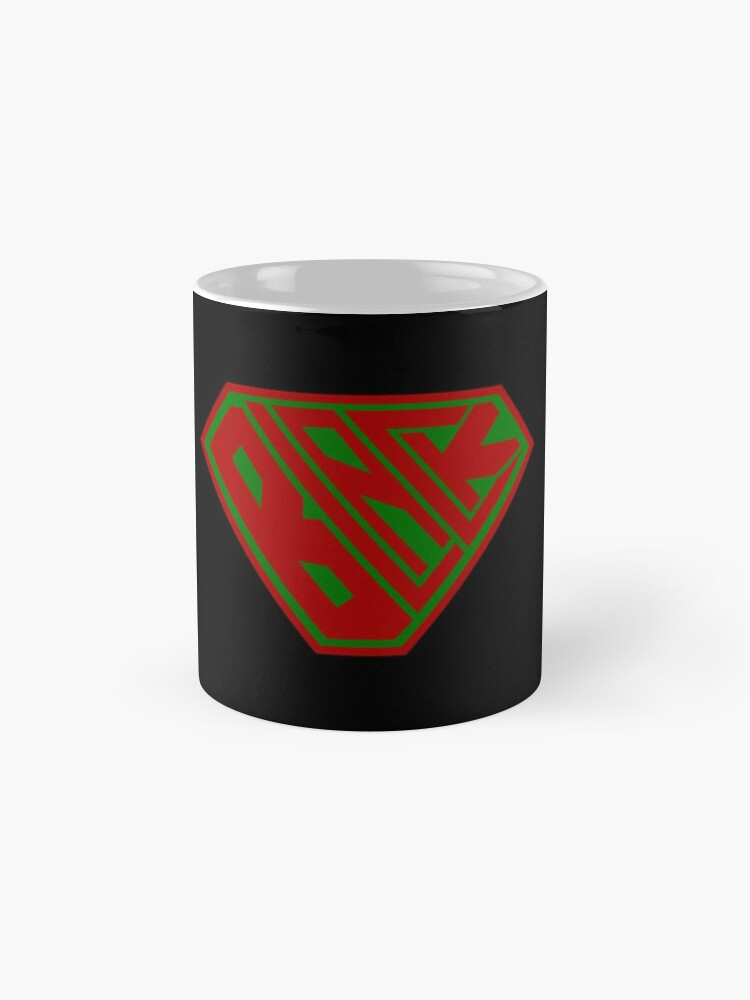 Alternate view of Black SuperEmpowered (Red and Green) Classic Mug