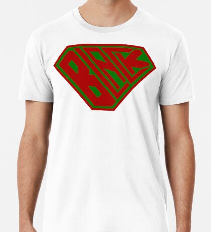 Black SuperEmpowered (Red and Green) Premium T-Shirt