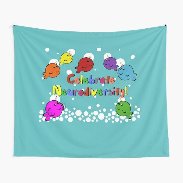 Celebrate neurodiversity Tapestry