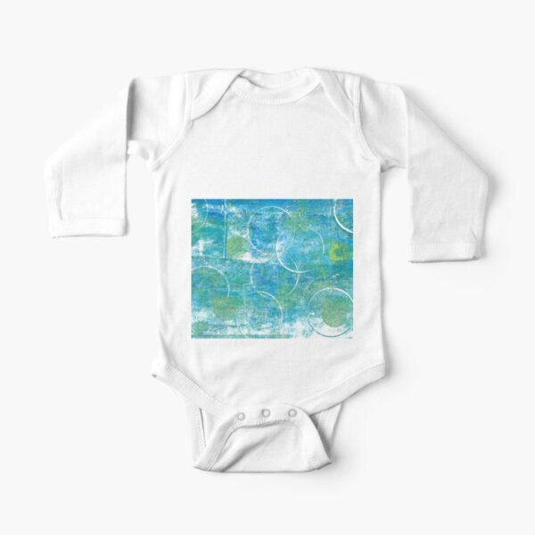 Mono Test - Scan Long Sleeve Baby One-Piece