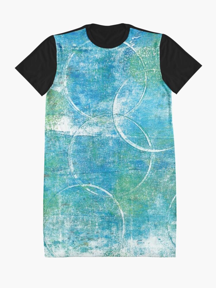 Alternate view of Mono Test - Scan Graphic T-Shirt Dress