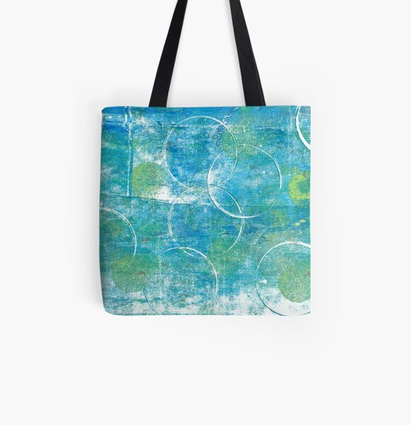 Mono Test - Scan All Over Print Tote Bag