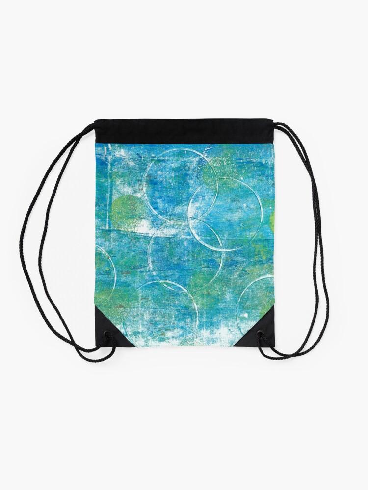 Alternate view of Mono Test - Scan Drawstring Bag