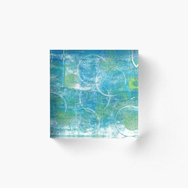 Mono Test - Scan Acrylic Block