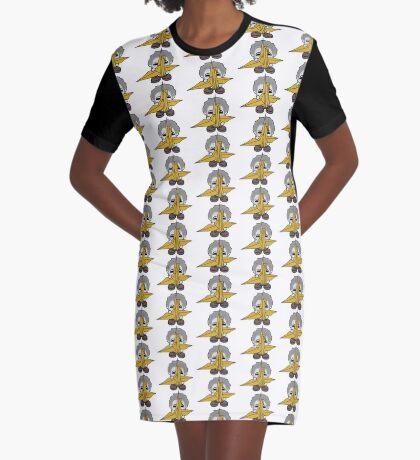 STPC: Grandpa Yo O'BOT Toy Robot (Origami Crane) Graphic T-Shirt Dress