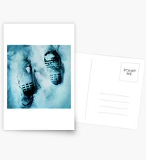 Footprints in the Snow Postcards